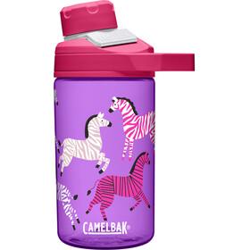 CamelBak Chute Mag Butelka 400ml Dzieci, zebras